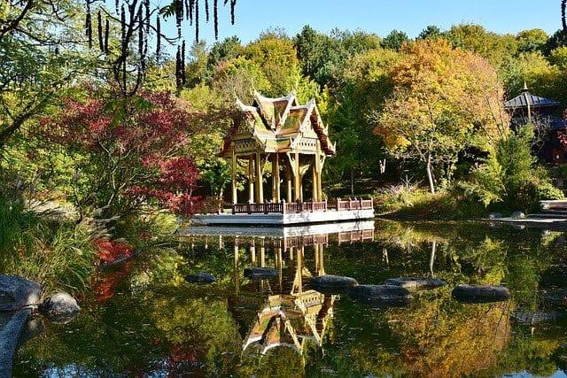 Pagoda in Westpark