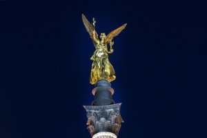 The angel of freedom or the Friedensengel in german is part of the attractions in Bogenhausen district in Munich.