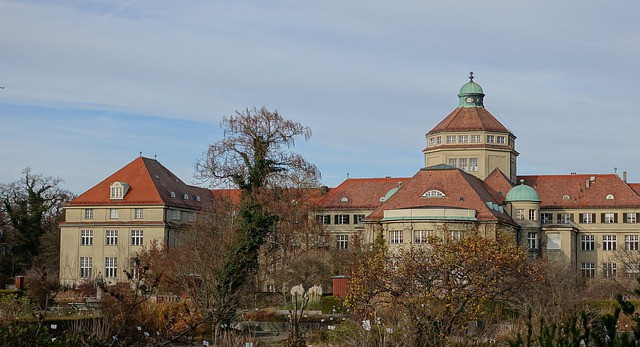 The botanical garden in munich is very popular for visitors and plant lovers