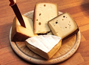 At the weekly market in Neuhausen you can also get delicoius cheese