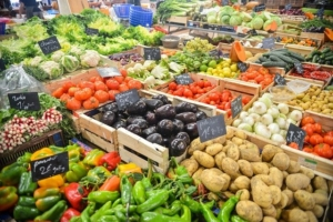 The weekly market in Haidhausen offers a variety of fresh and regional vegetables