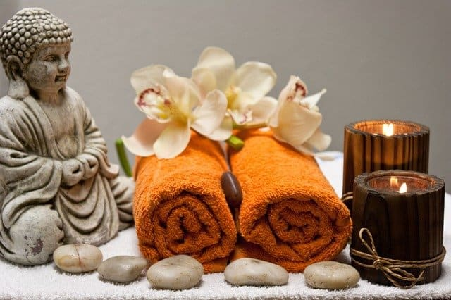 In Munich's Aiyasha Spa you can get a relaxing wellness treatment