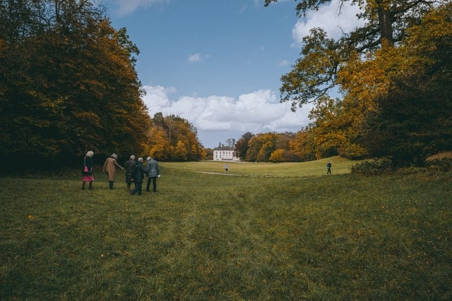 The Nymphenburg Park in Munich is a popular place to relax and meet friends