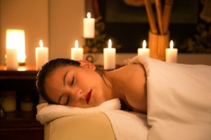 A relaxing massage is part of the wellness programmes in munich