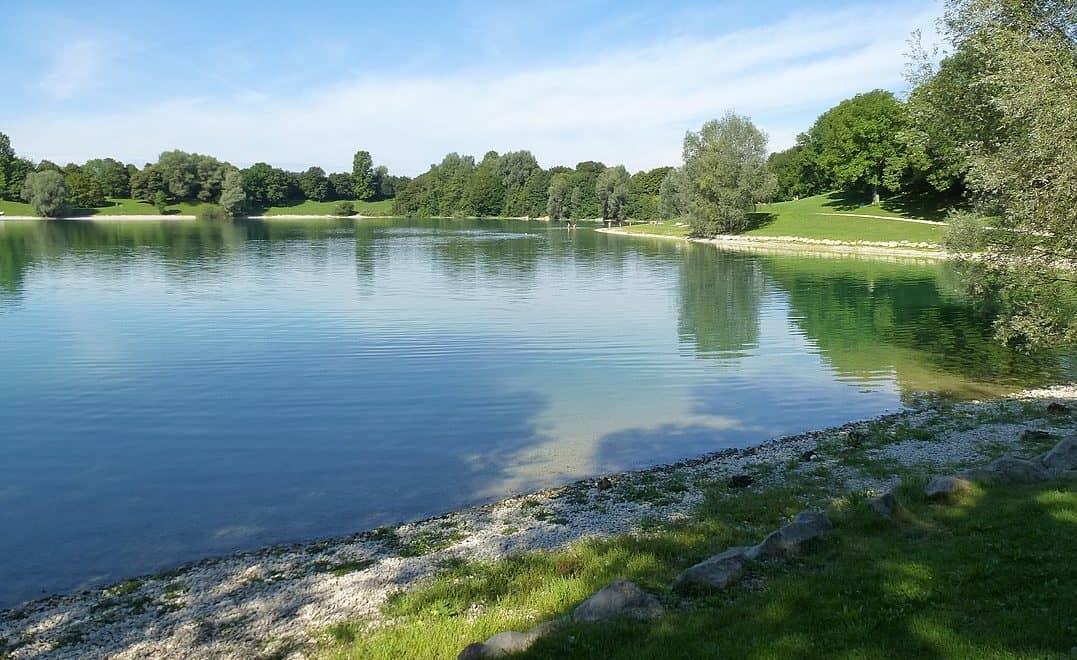 Beautiful lakes around Munich