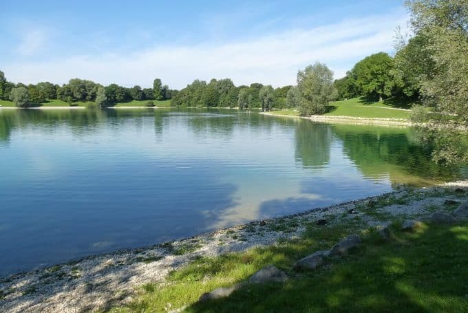 Heimstettener Lake around Munich
